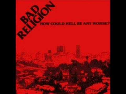 Bad religion - We are only gonna die